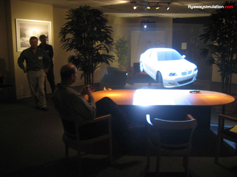holographic projection technology Français the future, is now musion, world leader in holographic projection.