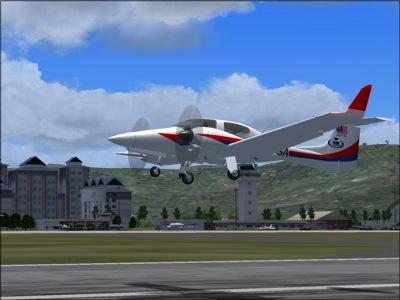 HM Aerospace Diamond DA 42 Twinstar for FS2004