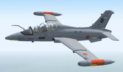 Sp2 aermacchi mb 339 cd for fsx