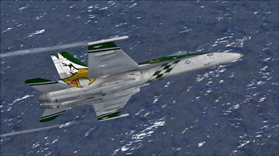 US Navy FA-18C Hornet for FSX