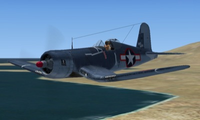 Vought Corsair F4U-1 for FSX