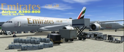 Emirates A380 for FS2004