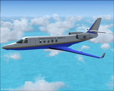 USAF Gulfstream for FSX