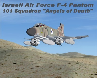Israeli F-4 Phantom for FSX