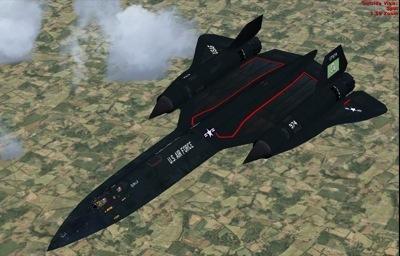 Lockheed SR-71 Blackbird for FSX