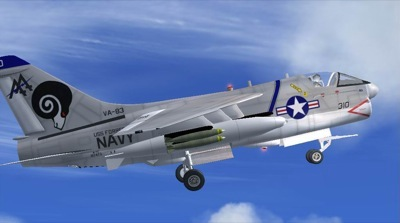 Vought A-7 Corsair II for FSX