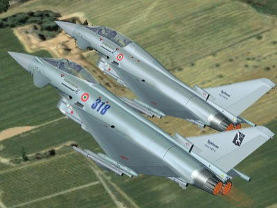 Eurofighter Typhoon demo for FSX