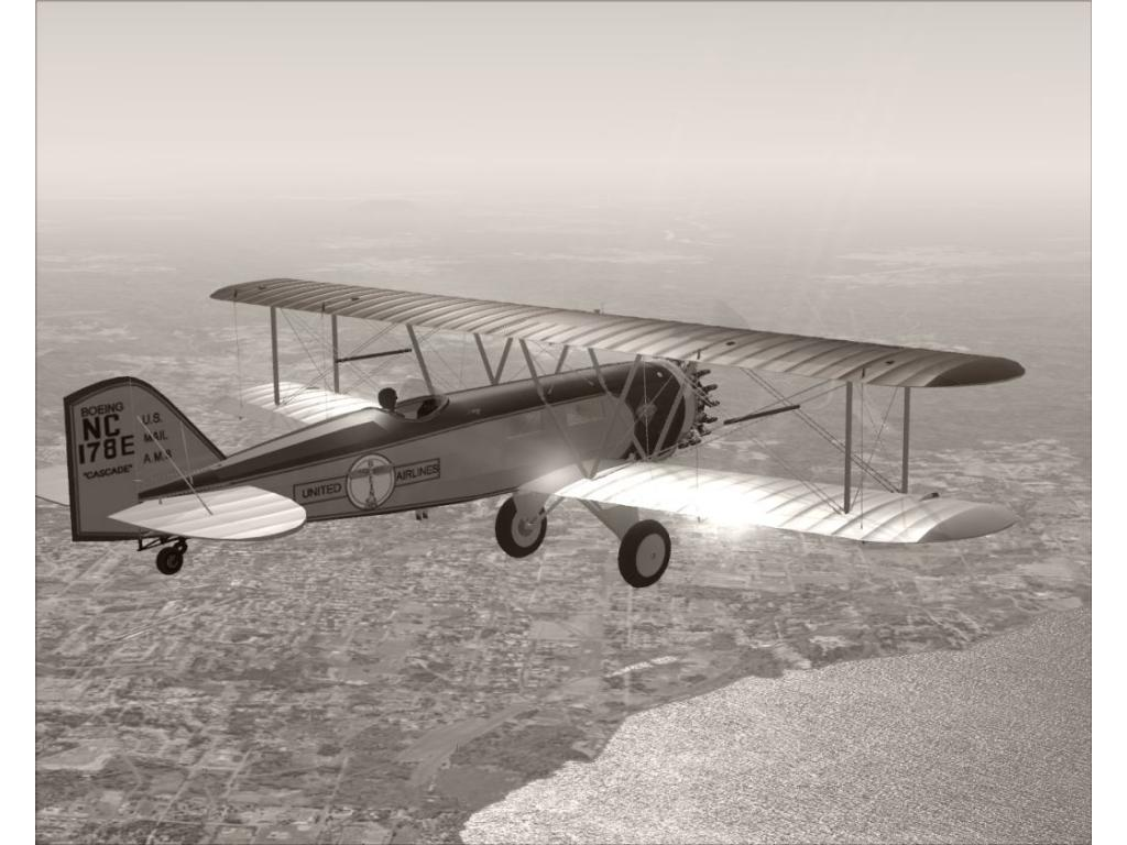 Boeing Model 40 for FSX/FS2004