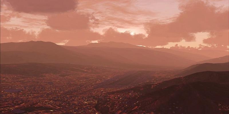 Cuzco Landschaft für Microsoft Flight Simulator