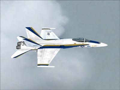 F18 Hornet Simulator