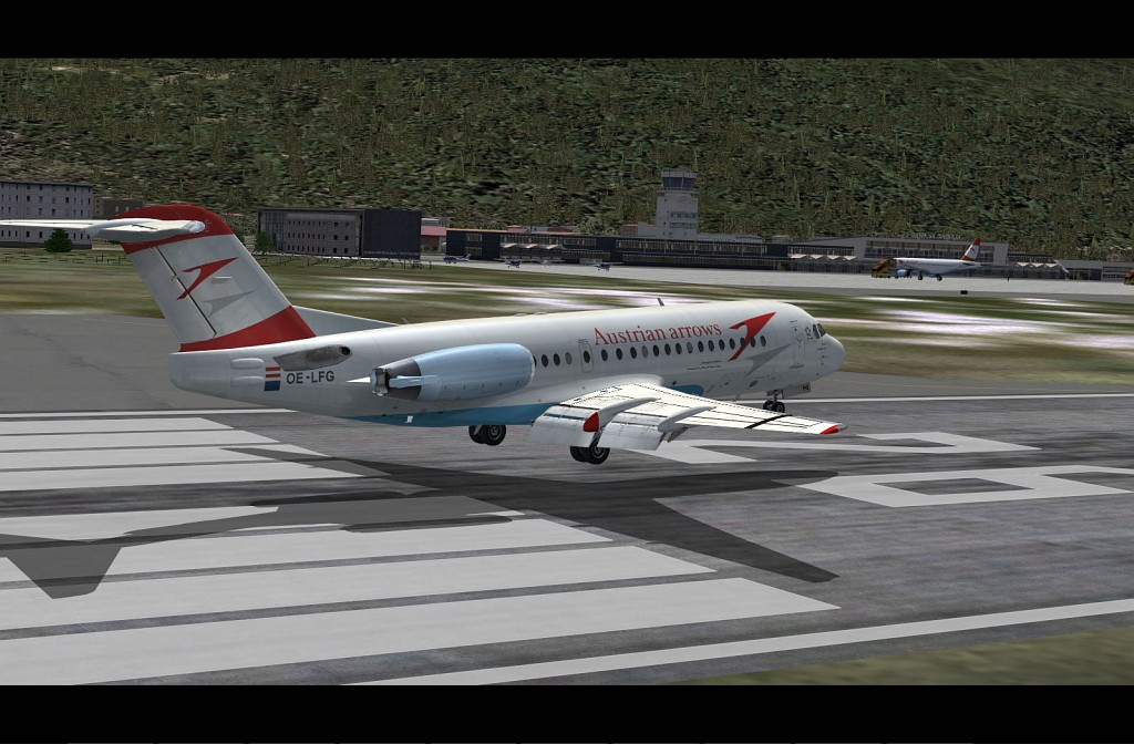 Fokker 70/100 screenshot