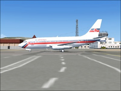 GB Airways 737