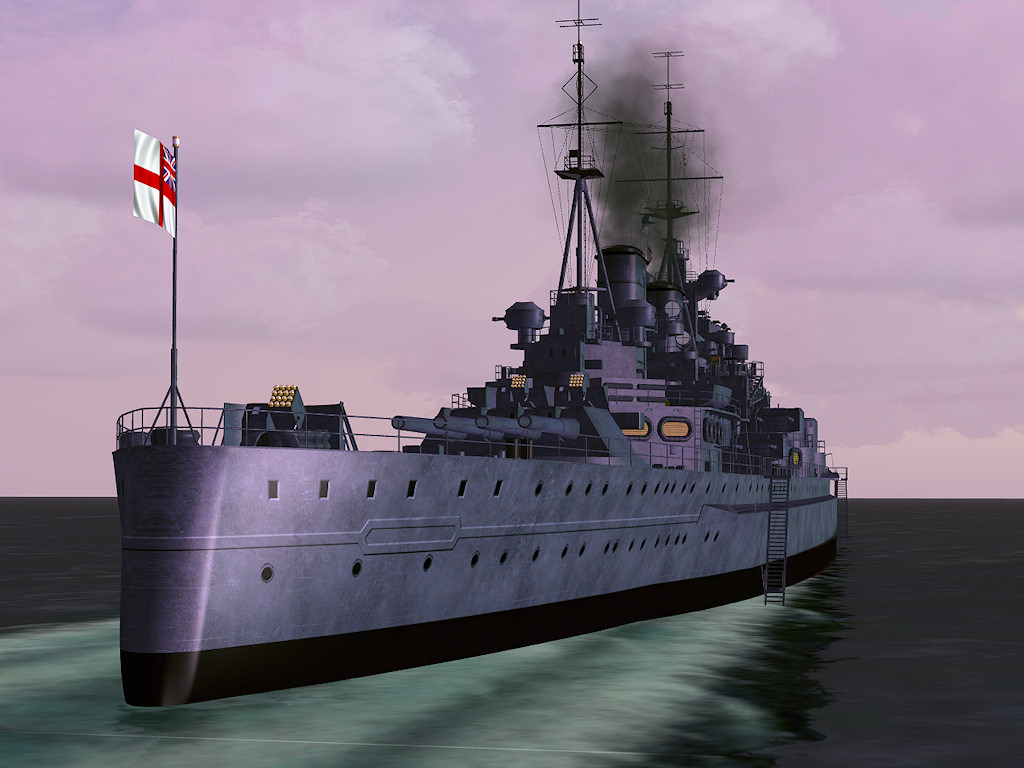 HMS King George from Deltasim