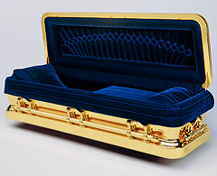 Michael Jackson's Gold Coffin