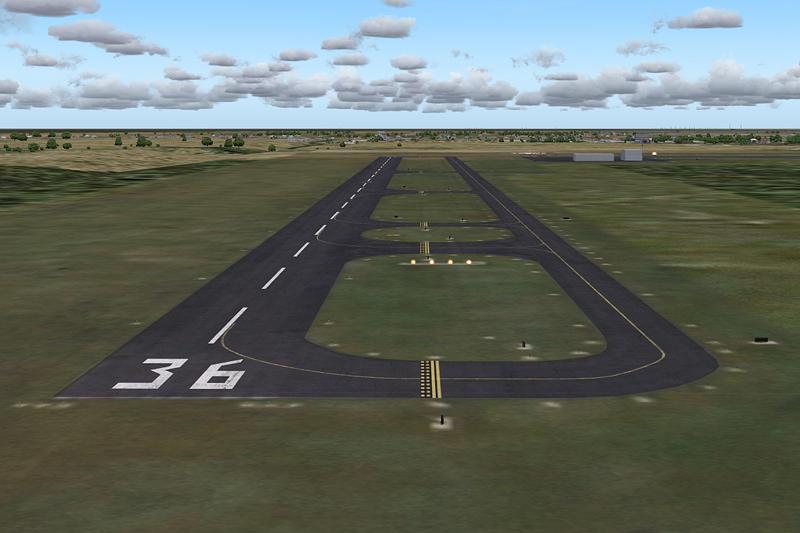 Gehöft-allgemeiner Luftfahrt-Flughafen