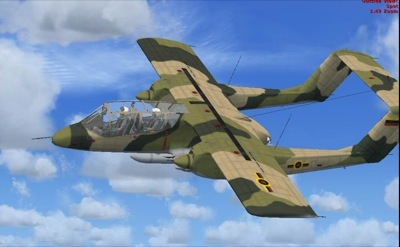 North American Rockwell OV-10A for FSX
