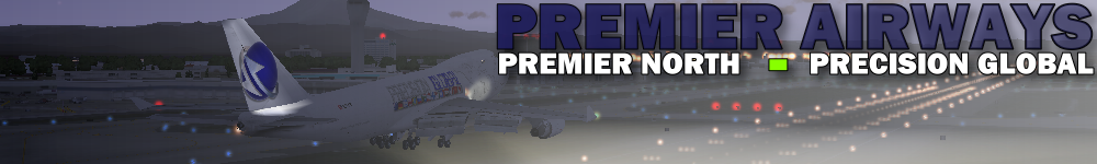 Premier Virtual Airline logo