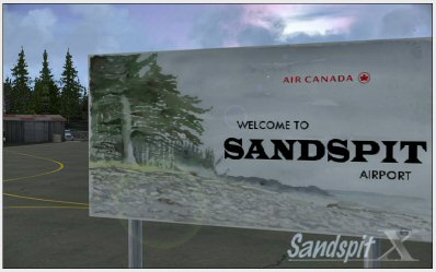 Sandspit X scenery for FSX and FS2004