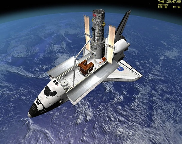fsx space shuttle atlantis flight - photo #38