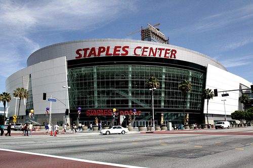 Michael Jackson's Memorial Concert at the Staples Center in LA