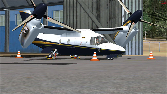 Wilco Tilt Rotor for FS2004 and FSX