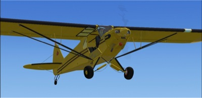FSX/FS2004 Piper Super Cub