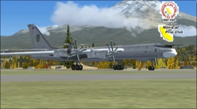 Tupolev Tu-95MS in FSX