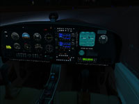 Cockpit night lighting