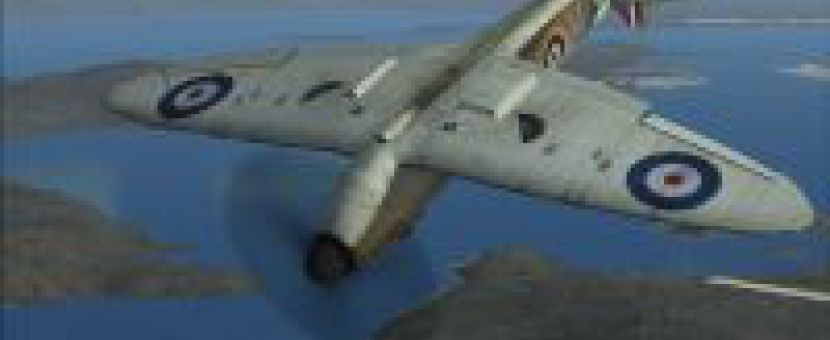 A2A Simulations Wings of Power: Supermarine Spitfire Mk I Now Available