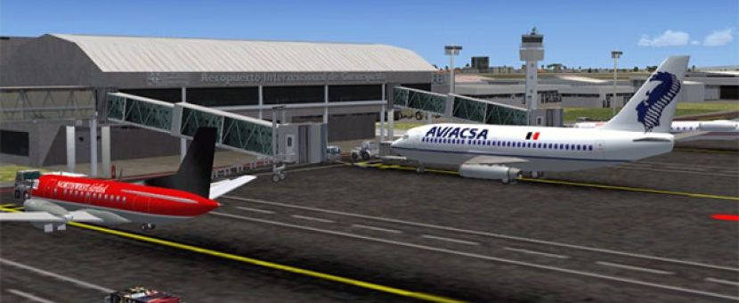Aerosoft and FlyMex Releases Add-on for Airports of Mexico City and Central