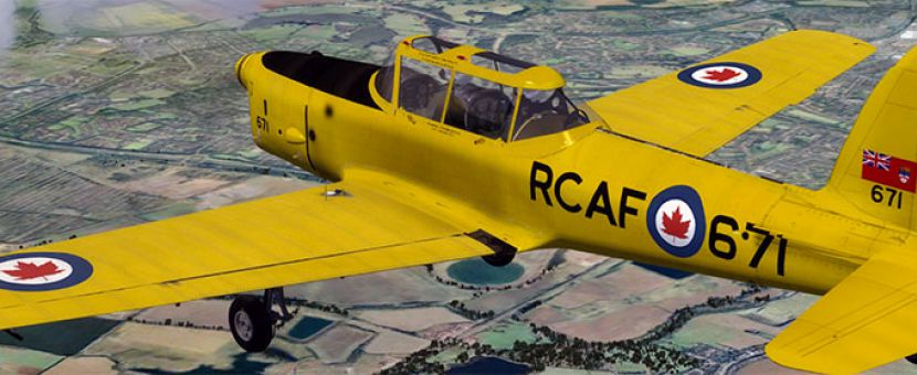 Just Flight DHC-1 Chipmunk for FSX Released
