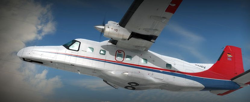 Carenado Dornier Do 228 100 HD Series Released for FSX/P3D