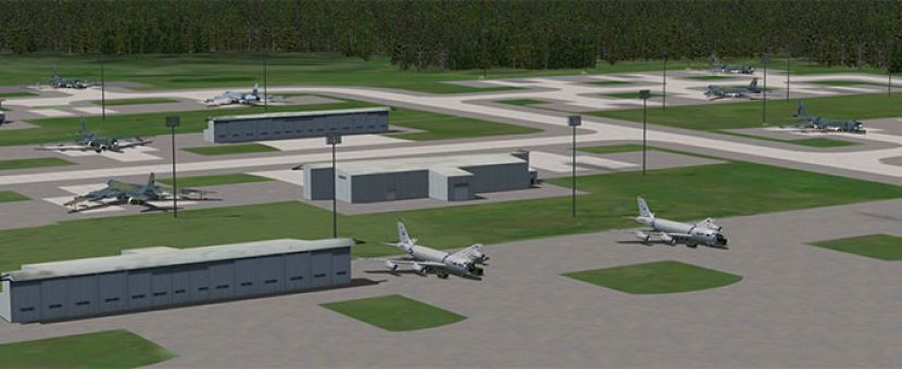 Updated Team SDB Loring AFB for FSX/P3D