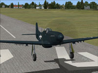 "FJ-1D Seahorse ""What-if,"" 102640"