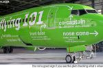 "Aircraft ""Instructions"" Painted on Kulula Airlines"