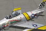 Milviz F-86F-30 Sabre for FSX/P3D Released