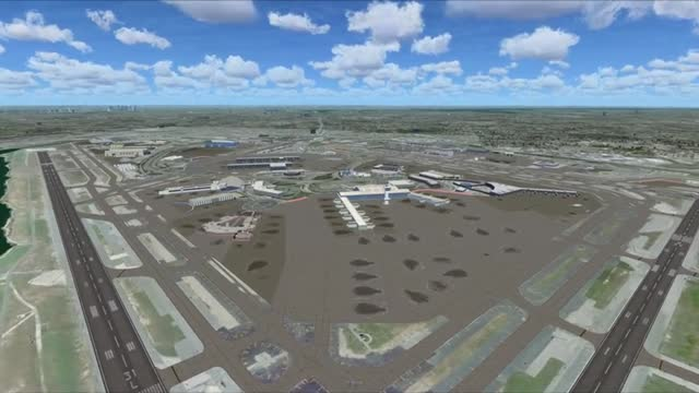 John F  Kennedy Airport Scenery for FSX