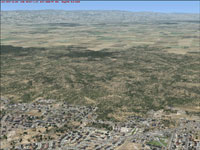 Central Valley with default FSX