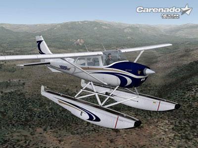 Carenado Cessna 172 Carenado Cessna 172n on Floats
