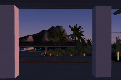 Bora Bora scenery for FS2004