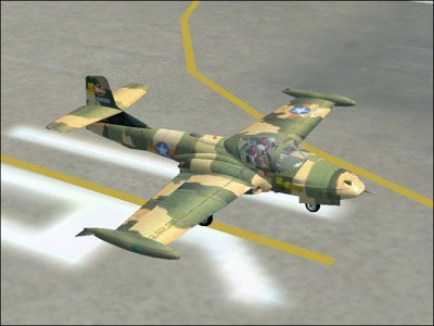 Cessna T-37 for FS2004