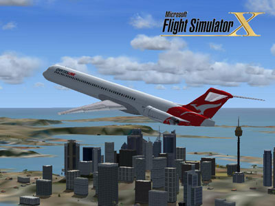 Flight Simulator Boeing 737-400