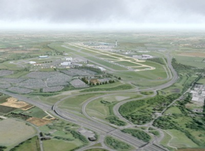 Stansted Airport (EGSS) Scenery