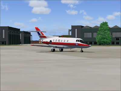 HS125 Dominie for FS2004