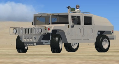 Army Humvee for FSX