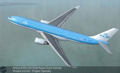 KLM Airbus A330-203