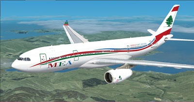 MEA Airbus A330 for FSX