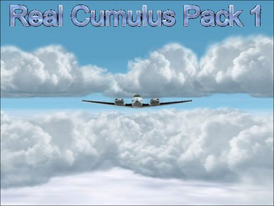 Real Cumulus Clouds Pack for FS2002