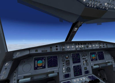 Airbus A330-300 Virtual Cockpit