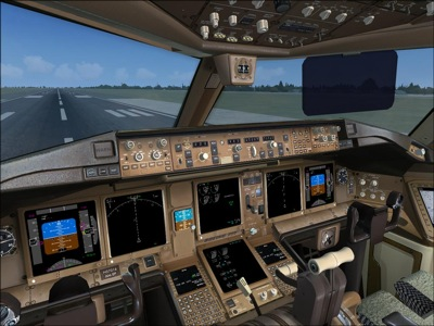 United Airlines Boeing 777-200 Virtual Cockpit